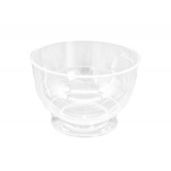 Clear Stemmed Coupe Cup Base