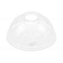 Clear Stemmed Coupe Cup Lid