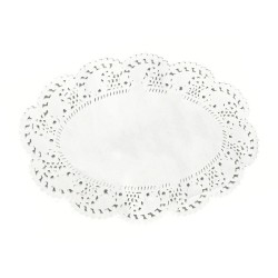 Oval Lace Doyley 1