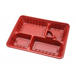 5 Compartment Bento Box